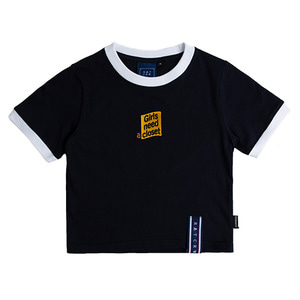 GNAC Crop T Shirt_Navy