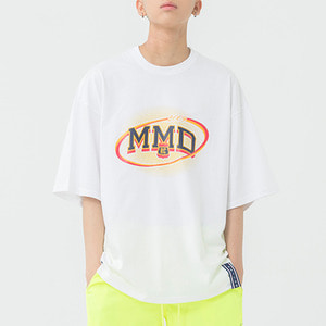 MMD Dot Logo T Shirt_White