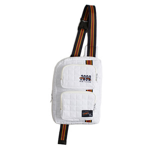 Padded Sling Bag_White