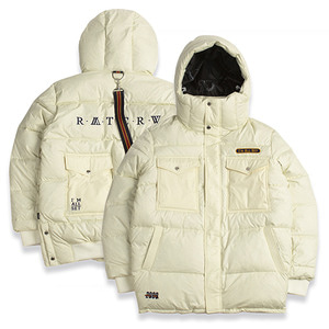 ALL SET Goose Down Parka_Oatmeal