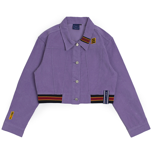 GNAC Corduroy Jacket_Purple