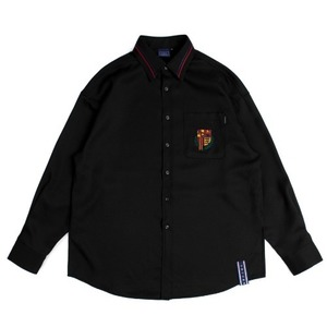 RMTCRW Collar Piping Shirt_Black