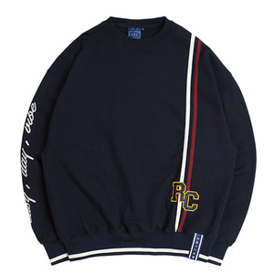 RC Double Line Sweat Shirt_Navy