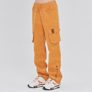 CORDUROY POCKET PANTS_YELLOW