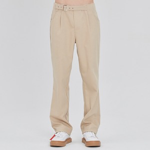 BASIC DRESS SLACKS_BEIGE