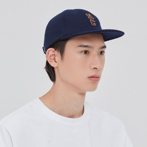RC LOGO WOOL BALL CAP_NAVY