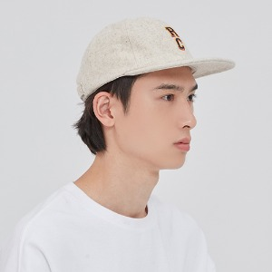 RC LOGO WOOL BALL CAP_OATMEAL