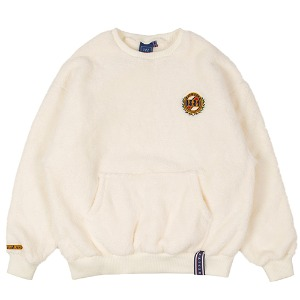 ALL FLEECE POCKET CREW NECK_OATMEAL