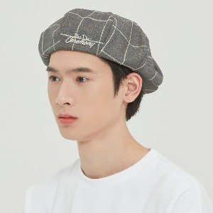 FRIDAY NEWSBOY CAP_GREY