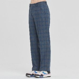 FRIDAY CHECK DRESS PANTS_BLUE