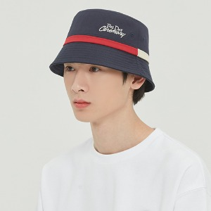 FRIDAY BUCKET HAT_NAVY