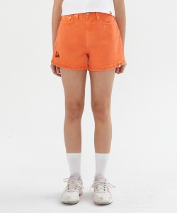 [KIRSH X RMTCRW]GNAC CHERRY SHORT PANTS_ORANGE