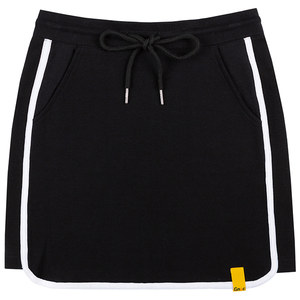 GNAC BINDING SKIRT_BLACK