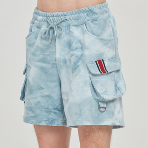 FRIDAY TIE DYE SHORTS_SKY BLUE