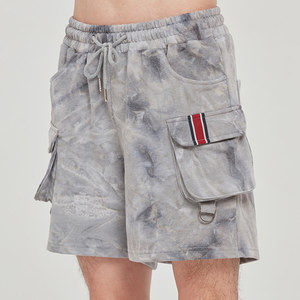 FRIDAY TIE DYE SHORTS_GREY