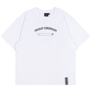 FRIDAY SEARCH BOX TEE_WHITE