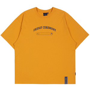 FRIDAY SEARCH BOX TEE_YELLOW
