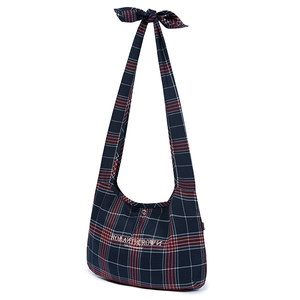 CROSS CHECK SHOULDER BAG_NAVY