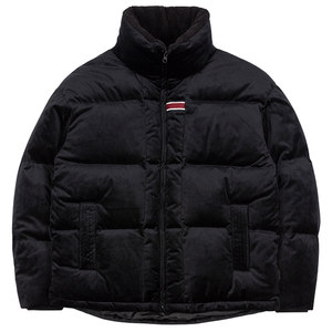 VELVET DUCK DOWN PARKA_BLACK