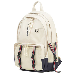 SIGNATURE LOGO MULTI BACKPACK_OATMEAL