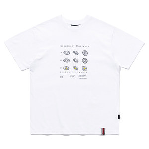 FLOWER ILLUSTRATION TEE_WHITE