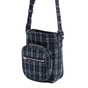 TWEED SLING BAG_NAVY
