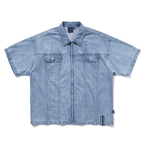 TRUCKER SUMMER JACKET_BLUE