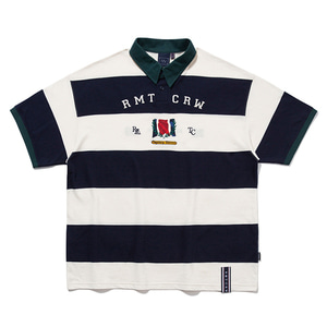 RMTC CLUB STRIPE POLO_NAVY