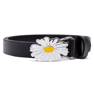 FLOWER BELT_BLACK