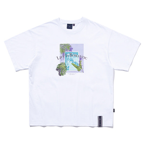 TROPICAL POOL TEE_WHITE