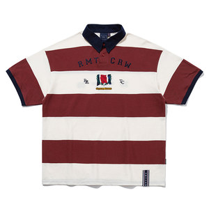 RMTC CLUB STRIPE POLO_BURGUNDY