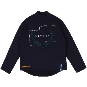 LAUREL CROWN TURTLENECK_NAVY