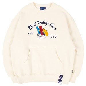 BOYS CREWNECK_OATMEAL