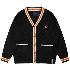 FRIDAY KNIT CARDIGAN_BLACK