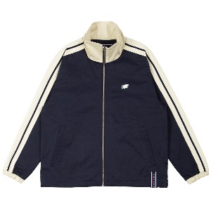 BACK POCKET TRACK JACKET_NAVY