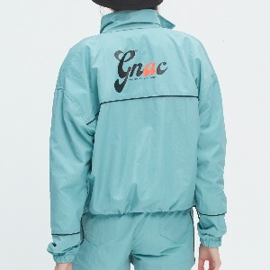 GNAC PIPING WINDBREAKER_LIGHT BLUE