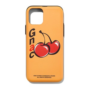 [KIRSH X RMTCRW]CHERRY PHONE CASE_YELLOW