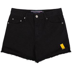 GNAC COTTON SHORTS_BLACK