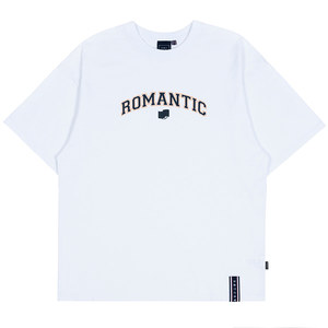 ROMANTIC ARCH LOGO TEE_WHITE